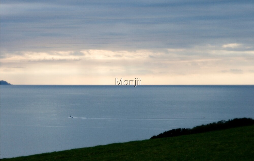 Land and sea by Monjii