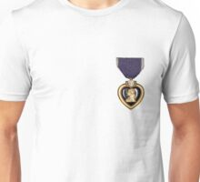 Purple heart 2 Unisex T-Shirt