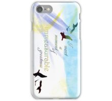 Immeasurable Greatness iPhone Case/Skin