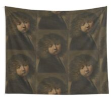 Painting - Head of a boy, circle of Rembrandt Harmensz. van Rijn, after 1643  Wall Tapestry
