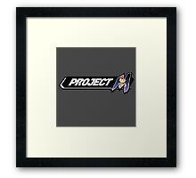 Project M - Ness Main  Framed Print