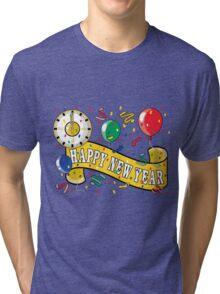 Happy New Year T-Shirts Tri-blend T-Shirt