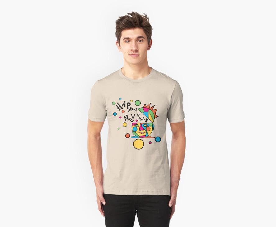 Happy New Year T-Shirts by HolidayT-Shirts
