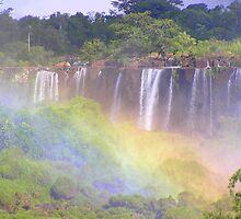 Iguazu Rainbows by buttonovski