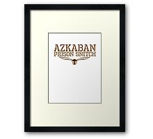 azkaban prison snitch Framed Print