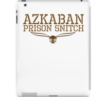 azkaban prison snitch iPad Case/Skin