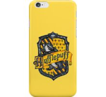 Hufflepuff House Crest iPhone Case/Skin