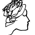 Woman in a hat -(200515)- Digital art: Zen Brush App by paulramnora