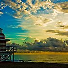 South Beach Sunrise by Eyecbeauty