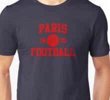 Paris Football Athletic College Style 2 Color Unisex T-Shirt