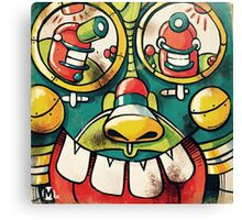 ControlBot Canvas Print