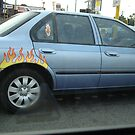 Wheels on Fire, Bayswater by TheLazyAussie