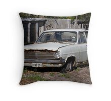 Rusted Embleton Throw Pillow