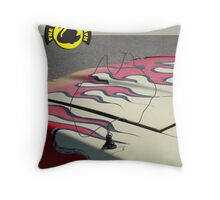 The Cars of The Worst of Perth  Throw Pillow