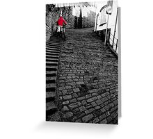 The Red Climber Greeting Card