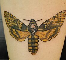 "Death Head Hawk Moth ""Death Moth"" Tattoo by BellaStarr"
