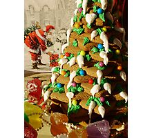 Christmas Snacks Photographic Print