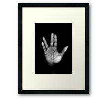 Live Long & Prosper Framed Print