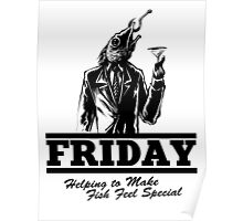 Friday Means Fish Special! Poster