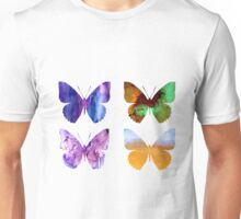 Watercolor Butterflies 2 Unisex T-Shirt