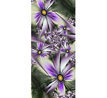 Flower touch Photographic Print