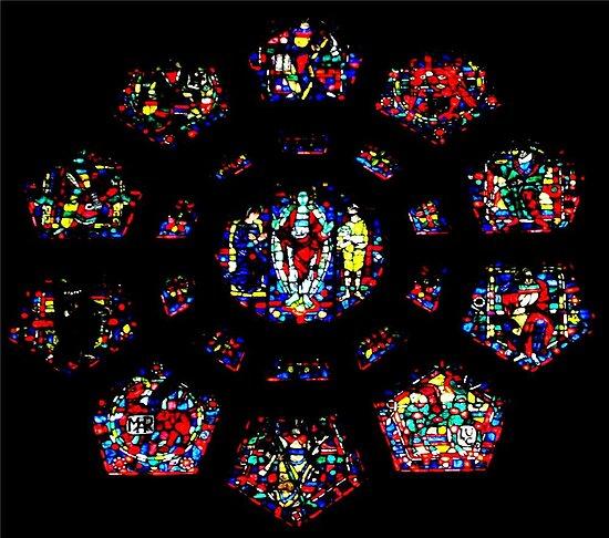 Church vitral (Montreal)...! by sendao