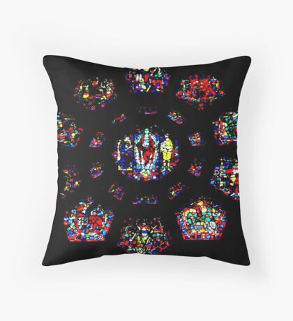 Church vitral (Montreal)...! Throw Pillow