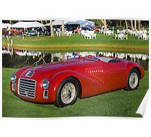 1947 Ferrari 125S - 01C/0101 Poster
