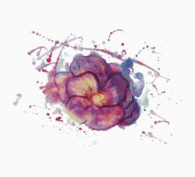 Watercolor Flower Kids Clothes