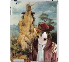 Bull Terrier Art - The strange windmill iPad Case/Skin