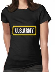 Army Womens Fitted T-Shirt