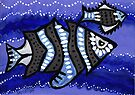 Tribal Fish  by Kayleigh Walmsley
