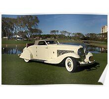 1937 Duesenburg J Roadster Poster