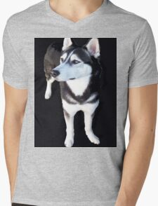 CHEWY UP FRONT Mens V-Neck T-Shirt