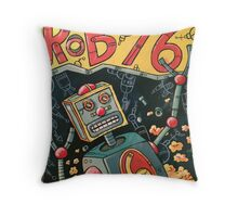 Robot 6 Throw Pillow