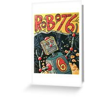 Robot 6 Greeting Card