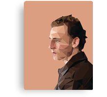 Tom Hiddleston - Low Poly Canvas Print