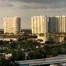A Tribute to Philip Johnson-Moods of a City, North Miami Florida by Yuri Lev