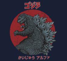 Gojira - Kaiju Alpha Kids Tee