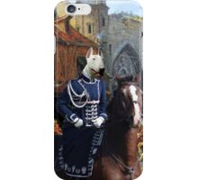 Bull Terrier Art - Start to hunt iPhone Case/Skin