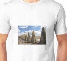 Pyramid stones Unisex T-Shirt