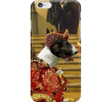 Bull Terrier Art - Scene from Musketeers Life iPhone Case/Skin