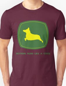 Nothing runs like a corgi geek funny nerd T-Shirt
