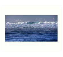 Wave of Blue Art Print