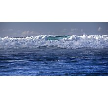 Wave of Blue Photographic Print