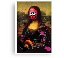SplatLisa Canvas Print