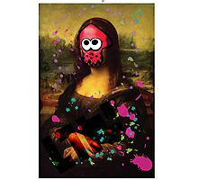 SplatLisa Photographic Print