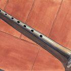 Bagpipe Chanter by Ken Powers
