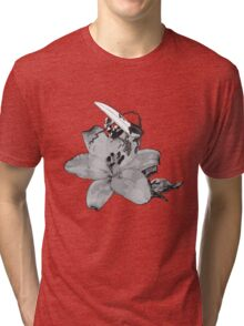 Off the petal Tri-blend T-Shirt