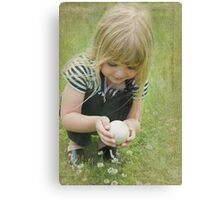 Finding Nature Canvas Print